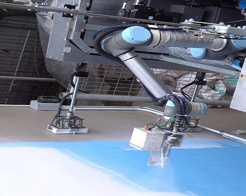 Robot Paints High Rise Buildings To Improve Efficiency Safety