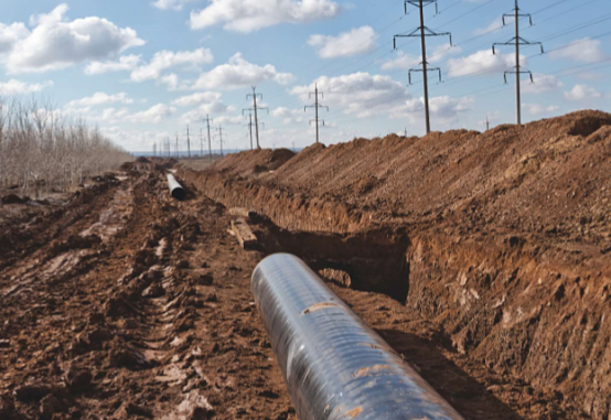 HVAC transmission lines near the pipeline can cause induced AC safety and corrosion issues.