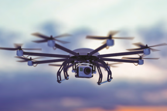 Drones are now commonly used for improved visual inspection, as they can locate a camera in areas that would otherwise only be accessible with scaffolding or rope work.