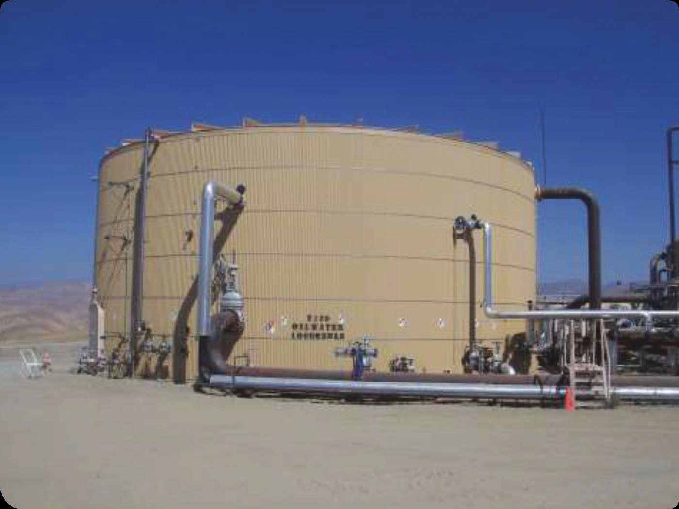 Steel tanks store valuable recovered water and are found all over the producing areas of the San Joaquin Valley which until recently represented almost 10% ... & Eliminating Coating Failuresu2014A Case Study for Achieving Long-Term ...