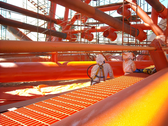 Flexible Coatings Help Protect Marine Structures